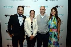 Federico Paz, Gabriela Garmendia, Manuel Filgueira y Soledad Ortega