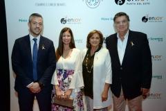 Ignacio Sarmiento, Julieta Locatelli, Jacinta Seré, Horacio Fernández Ameglio