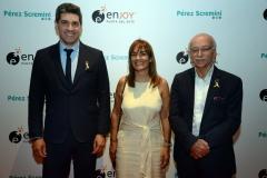 Javier Azcurra, Paulina Effinger, Ney Castillo