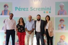 Fundación-Perez-Scremini-y-representantes-de-Creditel.Gerardo-Zambrano-Jacqueline-Cheirasco-Luis-Castillo-Martín-Bufano-y-Lucía-López