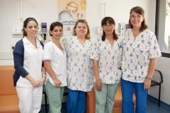 Equipo enfermería Hospital de Día